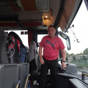 Unser Busfahrer Andreas