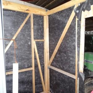 Innenaufbau des Bauwagens von Janina