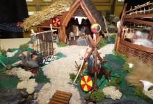 Modell eines Wikingerdorfes